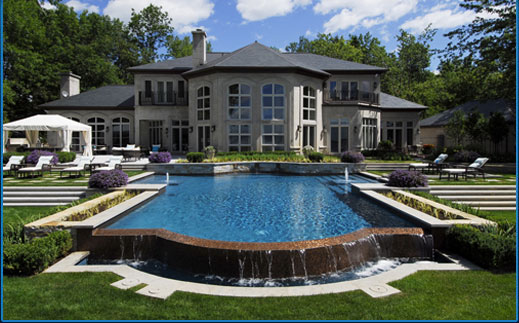 Achievements pool design water basin montreal laval for Piscine laval